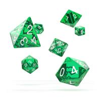 Oakie Doakie Dice RPG Set Translucent - Green (7)