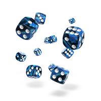 Oakie Doakie Dice D6 Dice 12 mm Gemidice - Twilight Stone (36)