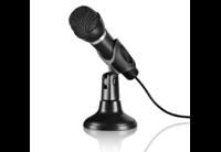 speedlink CAPO Desk & Hand Microfoon, Zw