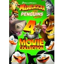 Madagascar & Penguins of Madagascar: The 4-Movie Collection DVD