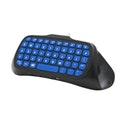 Snakebyte Key:Pad Wireless Keyboard for PS4 Black/Blue SB909900