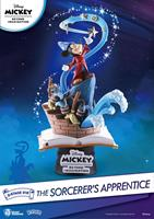 Beast Kingdom Toys Mickey Beyond Imagination D-Stage PVC Diorama The Sorcerer's Apprentice 15 cm