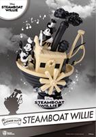 Beast Kingdom Toys Steamboat Willie D-Stage PVC Diorama Mickey & Minnie 15 cm