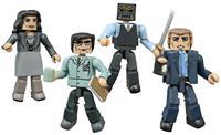 Diamond Select Gotham Minimates Action Figures 5 cm Series 1 Box Set