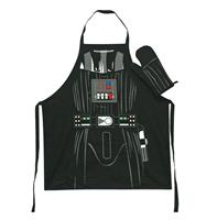 SD Toys Star Wars cooking apron with oven mitt Darth Vader