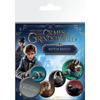 GB eye Fantastic Beasts 2 Pin Badges 6-Pack Nifflers