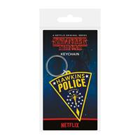 Pyramid International Stranger Things Rubber Keychain Hawkins Police 6 cm