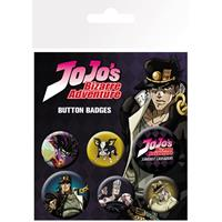 GB eye Jojo's Bizarre Adventure Pin Badges 6-Pack Characters