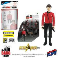 Bif Bang Pow! The Big Bang Theory Action Figures with Diorama Set Howard TOS EE Exclusive 10 cm