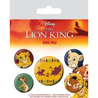 Pyramid International The Lion King Pin Badges 5-Pack Hakuna Matata