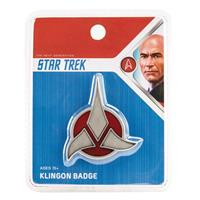 Quantum Mechanix Star Trek Replica 1/1 Magnetic Klingon Emblem Badge
