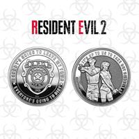 Iron Gut Publishing Resident Evil 2 Collectable Coin Raccoon Police Silver Edition