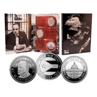 Iron Gut Publishing The Godfather Collectable Coin 3-Pack
