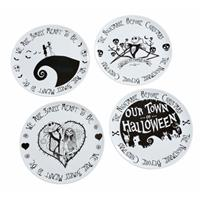 Funko Nightmare before Christmas Plates 4-Pack We Are Simply Meant to Be