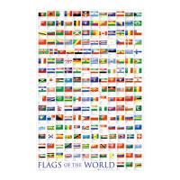 GB Eye Flags of the World 2017 Poster 61x91,5cm