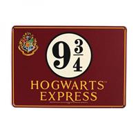 Half Moon Bay Harry Potter Tin Sign Platform 9 3/4 21 x 15 cm