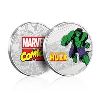Iron Gut Publishing Marvel Collectable Coin Hulk (silver plated)