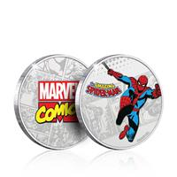Iron Gut Publishing Marvel Collectable Coin Spider-Man (silver plated)
