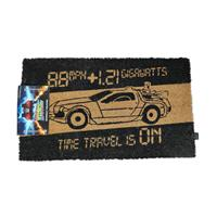 SD Toys Back to the Future Doormat Time Machine 43 x 72 cm
