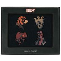 Dark Horse Hellboy Pin Badges 4-Pack