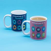 Paladone Products Tamagotchi Heat Change Mug Glossary