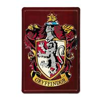 Logoshirt Harry Potter 3D Tin Sign Gryffindor 20 x 30 cm