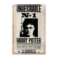 Logoshirt Harry Potter 3D Tin Sign Undesirable No 1 20 x 30 cm