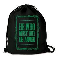 Logoshirt Harry Potter Gym Bag He Who Must Not Be Named