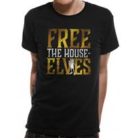 CID Harry Potter T-Shirt Free The House Elves Size L