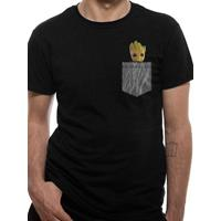 CID Guardians of the Galaxy 2 T-Shirt Cosy Groot Pocket Size S