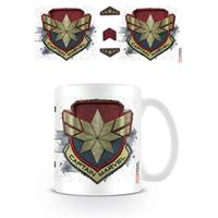Pyramid International Captain Marvel Mug Badge