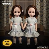 Mezco Toys The Shining Living Dead Dolls Talking Grady Twins 25 cm