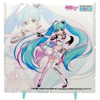 PLM Dioramansion 150 Decorative Parts Racing Miku Pit 2019 Optional Panel (Key Visual 1)