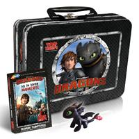 Winning Moves DreamWorks Dragons Top Trumps Card Game with Kids Box - German Version