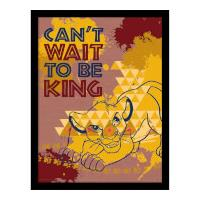 Pyramid International The Lion King (Can't Wait to be King) 30 x 40cm Print