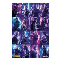 Pyramid International Avengers: Infinity War (Heroes) Maxi Poster