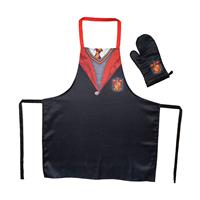 SD Toys Harry Potter cooking apron with oven mitt Gryffindor School Uniform