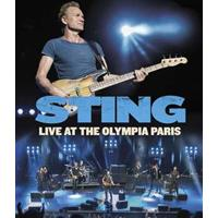 Sting - LIVE AT THE OLYMPIA PARIS Blu-ray