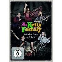 The Kelly Family WE GOT LOVE (LIVE) Pop DVD + Video Album