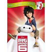 Big Hero 6 (Boek + DVD) DVD
