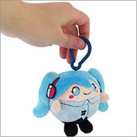 Squishable Hatsune Miku  Micro Clip-On Plush Figure Miku 8 cm