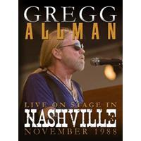 Gregg Allman - Live On Stage In..