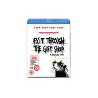 Exit Through The Gift Shop (Banksy) Rental Blu-Ray