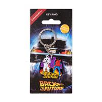 FaNaTtik Back to the Future Metal Keychain Marty & Doc
