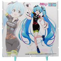 PLM Dioramansion 150 Decorative Parts Racing Miku 2019 Pit Optional Panel (Team UKYO Support Ver.)