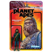 Super7 Planet of the Apes ReAction Action Figure Gorilla Soldier (Patrolman) 10 cm