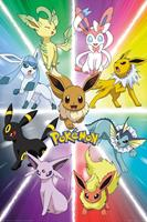 GB eye Pokémon Poster Pack Eevee Evolution 61 x 91 cm (5)