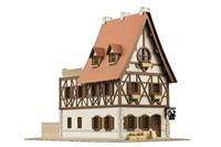Plum Is the order a rabbit?? 1/150 Paper Model Kit Anitecture Rabbit House 9 cm