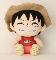Sakami Merchandise One Piece Plush Figure Luffy 25 cm