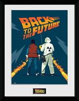 GB eye Back to the Future Framed Poster Doc & Marty 45 x 34 cm